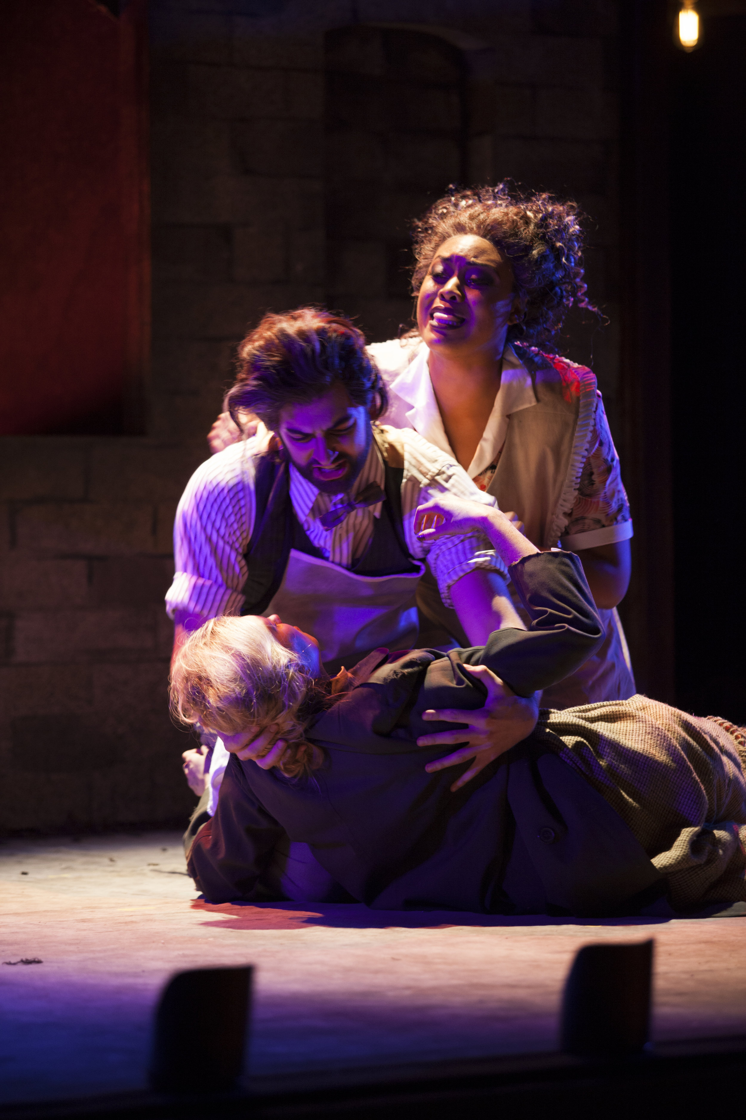 Sweeney Todd, with Christina Casey and Zoie Reams