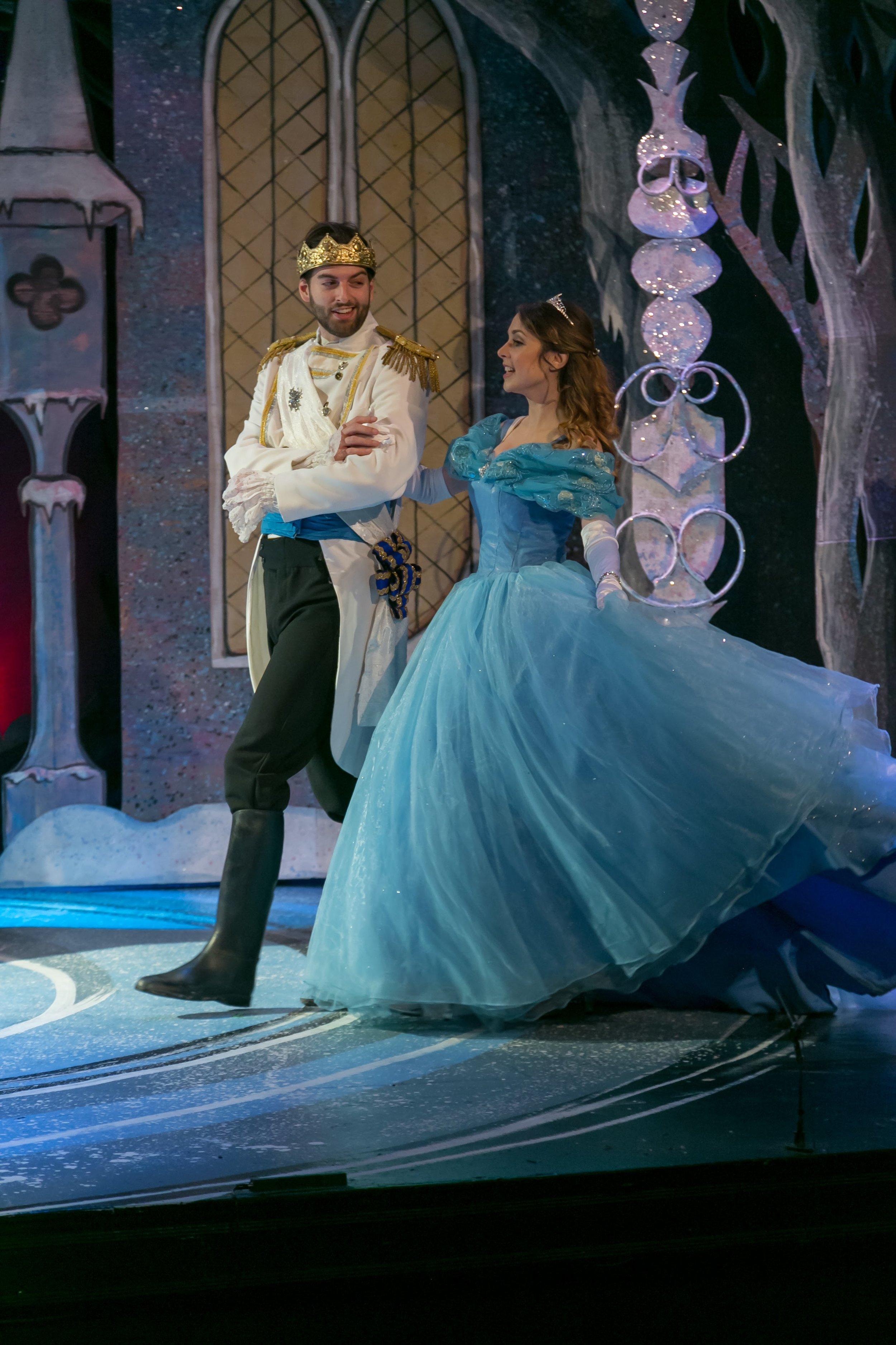 Cinderella, with Ally Borgstrom