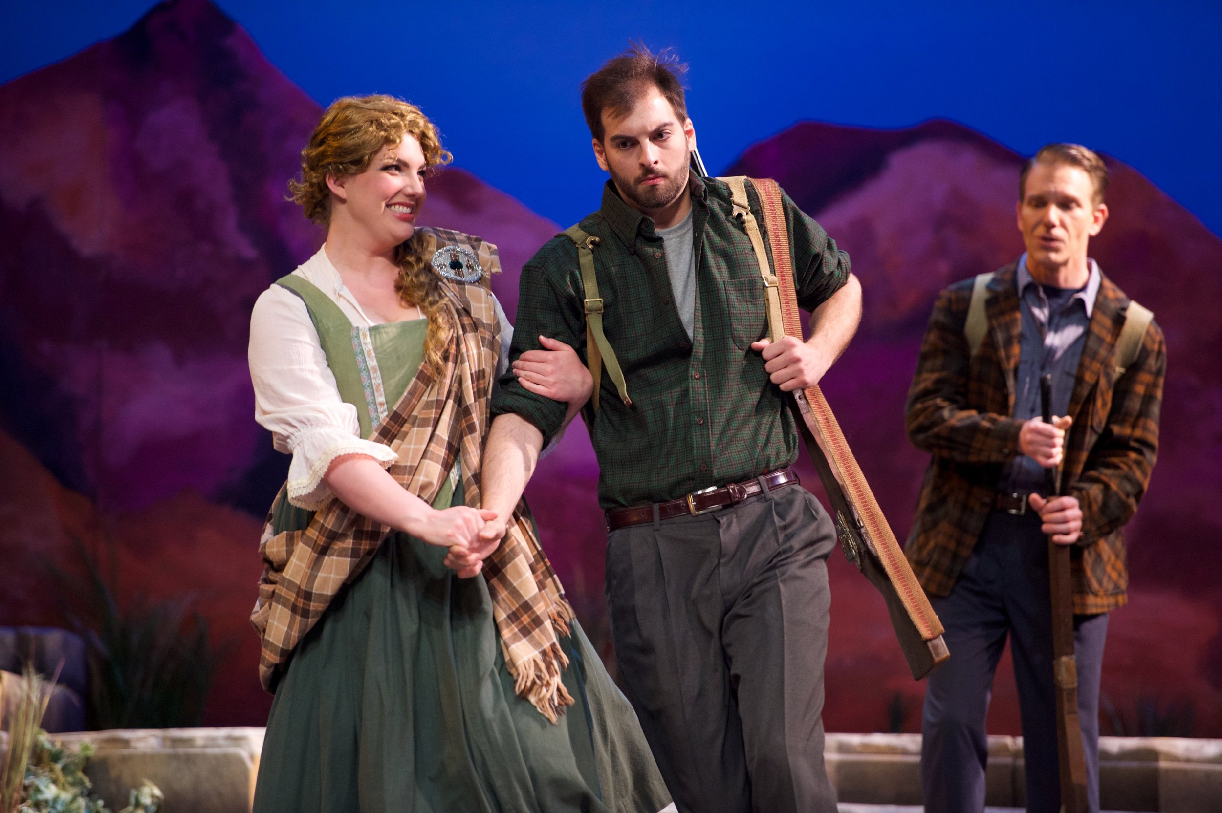 Brigadoon, with Olivia Woolley and Nate Brian (photo by Matt Dilyard)