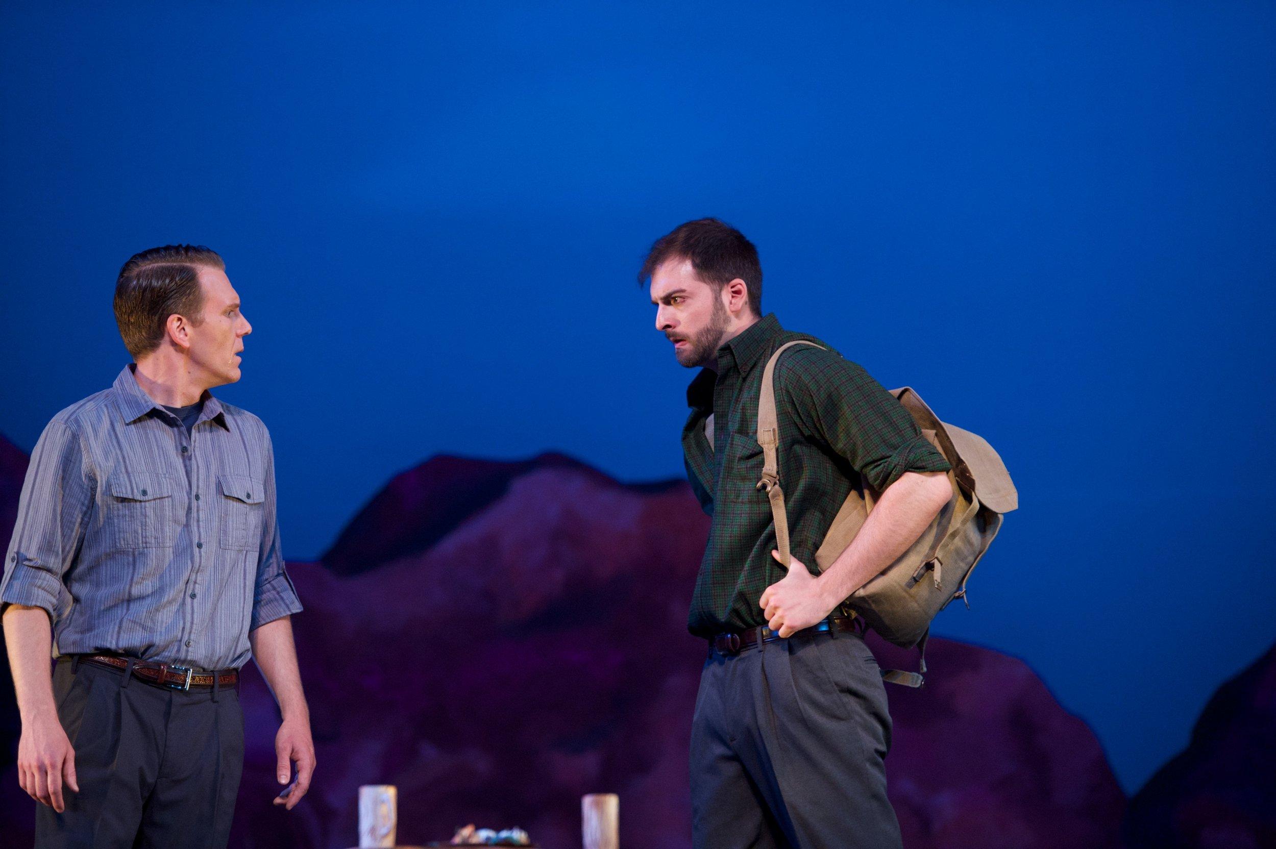 Brigadoon, with Nate Brian (photo by Matt Dilyard)