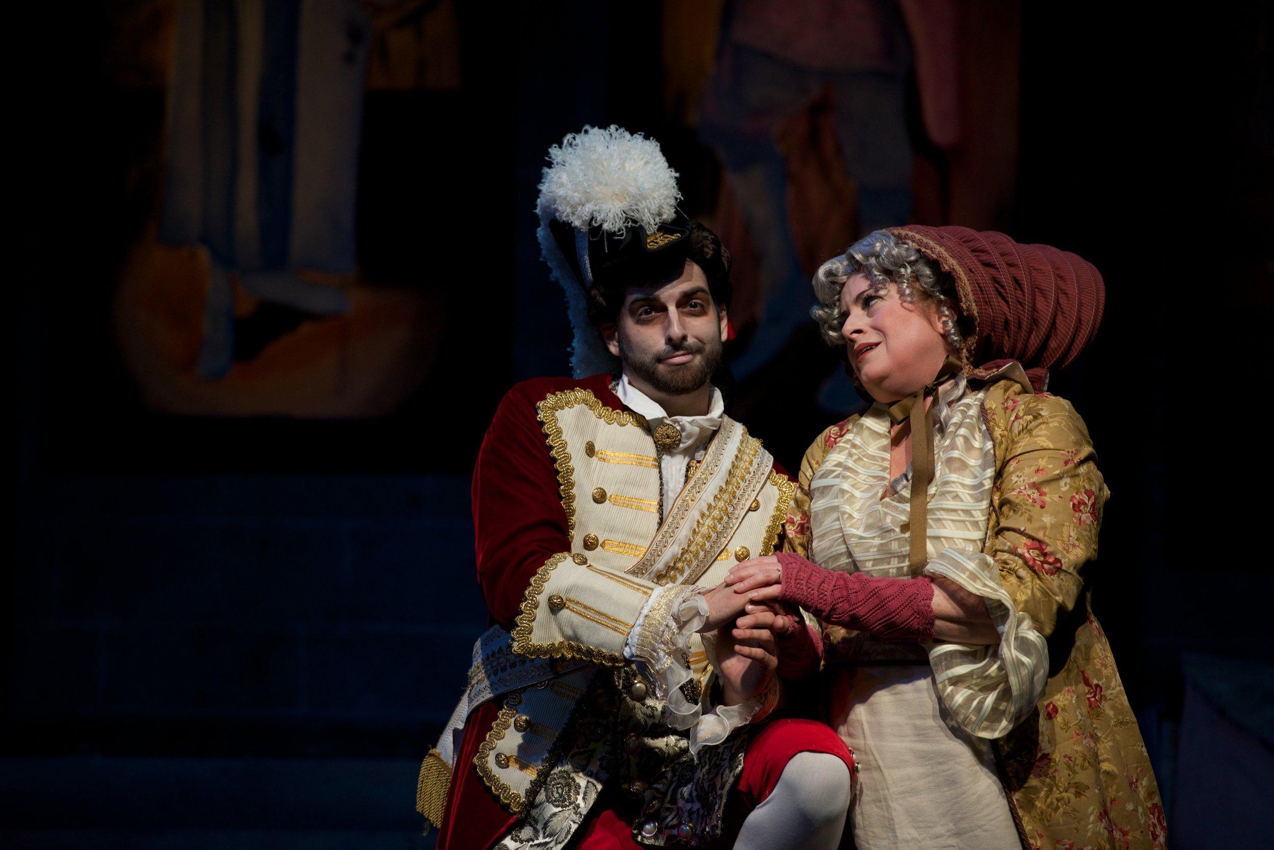Ruddigore, with Julie Wright Costa (photo by Matt Dilyard)
