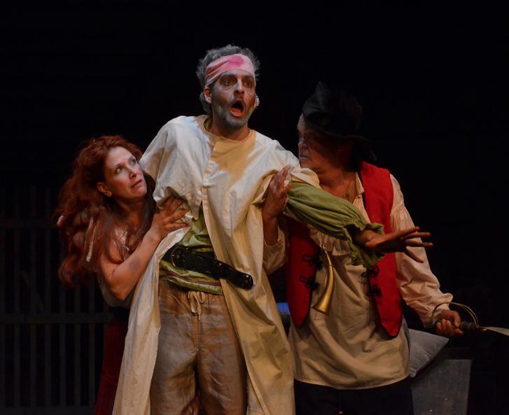 Man of La Mancha, with Nina Lionetti and Bill Kaufman
