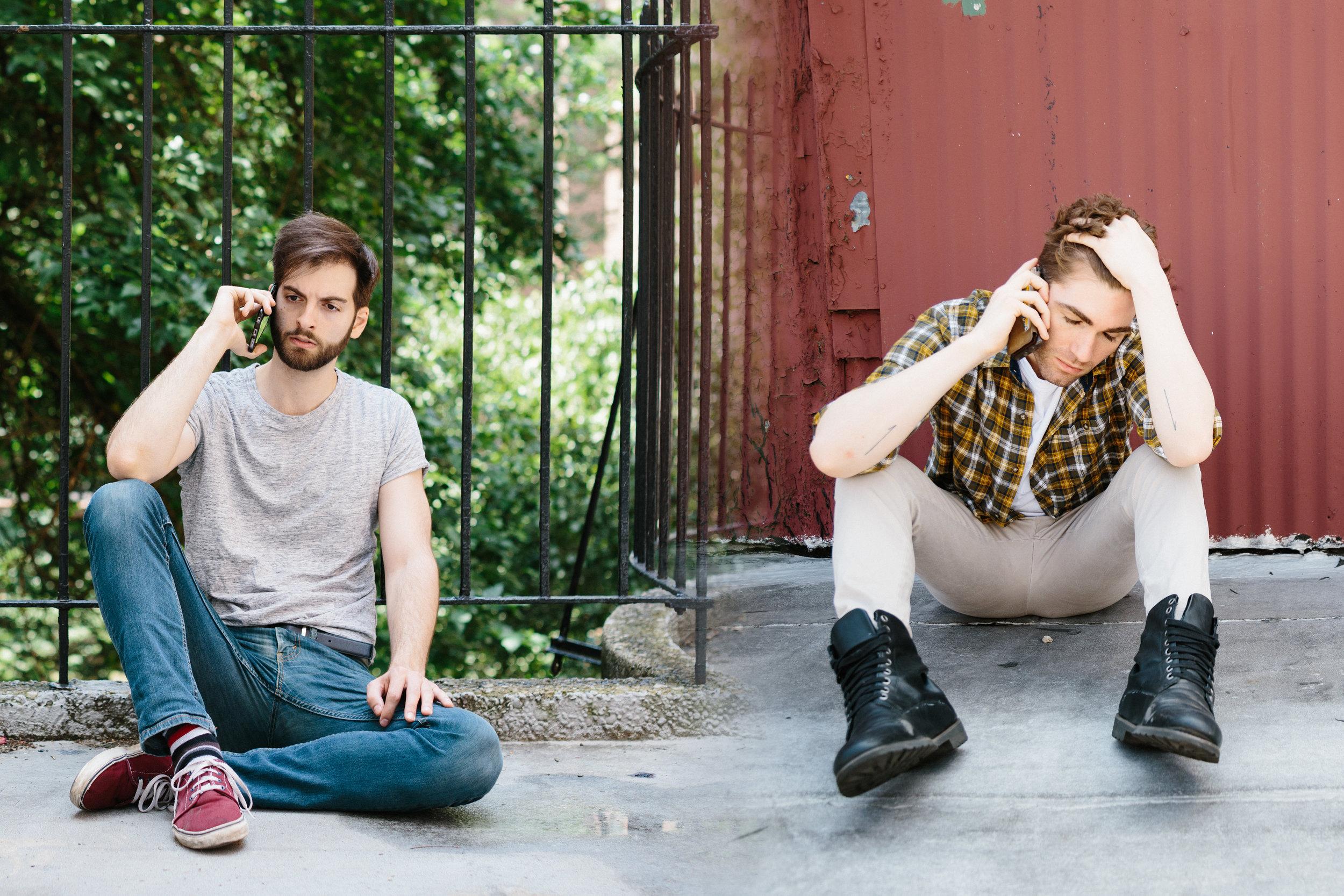 Last Ditch Playlist Promo, with Ross McCorkell (photo by Joseph Prestamo)