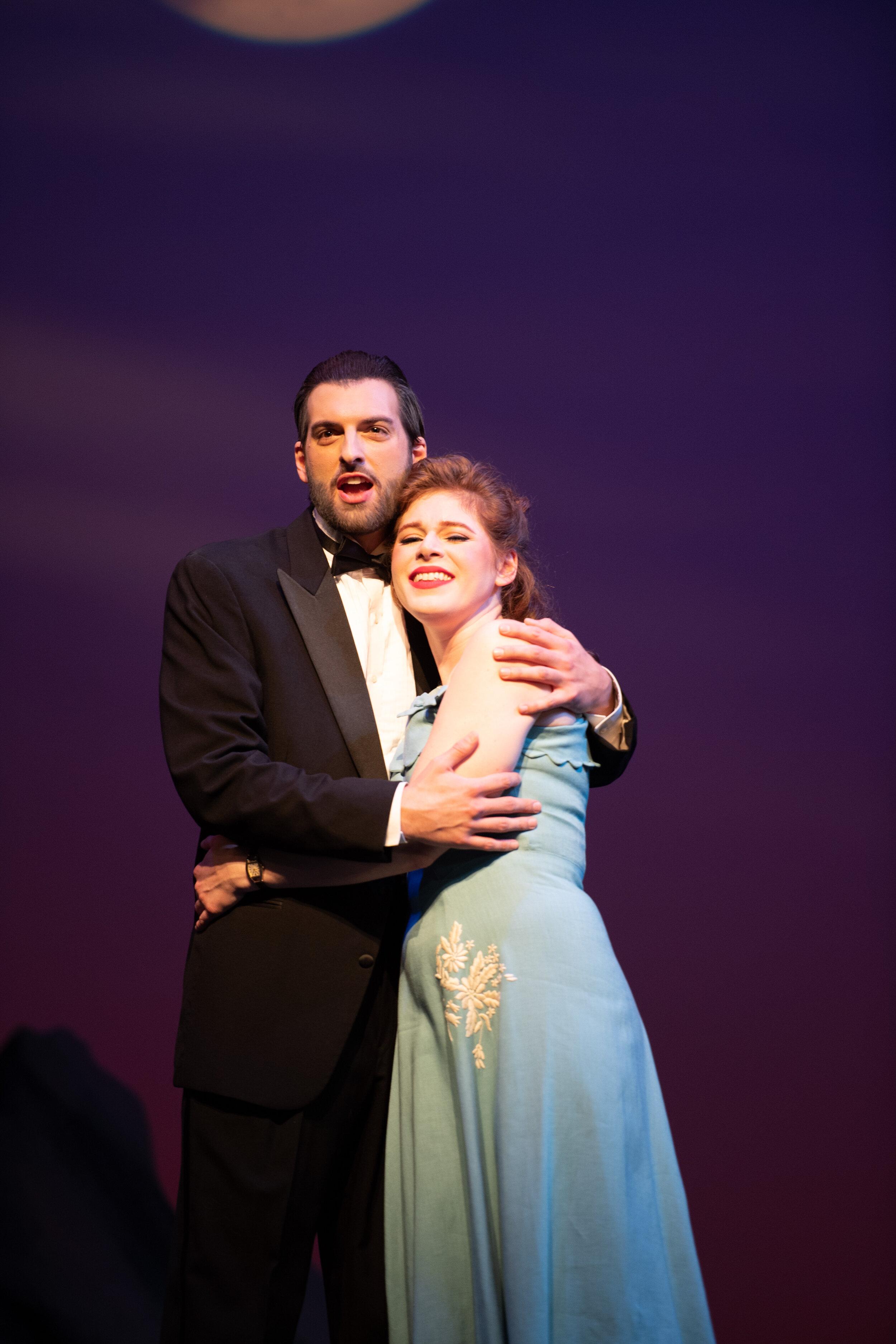 Emile de Becque, with Jocelyn Hansen (photo by Matt Dilyard)