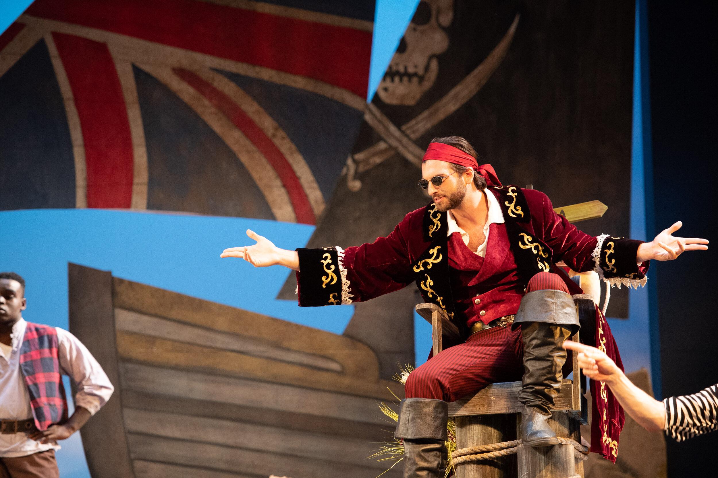 The Pirate King (photo by Matt Dilyard)