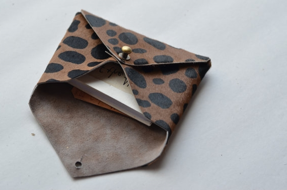 $26.00 Leather Envelope Wallet |  Alloftheabovely