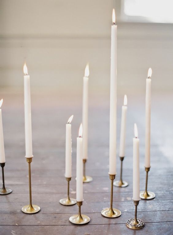 Pinterest | Experiences can be created and to me ambiance is everything. I am going to use some candle sticks a la Marie Antoinette to spark up some mood for my romantic evening. These can be used for a good galentine dinner as well ;)