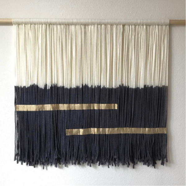 Picture taken from: https://www.instagram.com/fringe.fortyfour/?hl=en     Fringe Forty Four   | Handmade Bohemian Tapestries | I like to decorate some of my walls with textiles and tapestries, and her particular style really caught my attention. I love the dyed effect and vibes that she creates! She can really speak to people through her style.