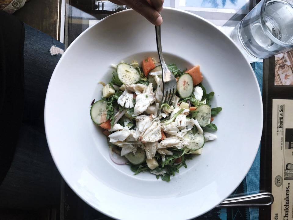 Summer Salad with Crab