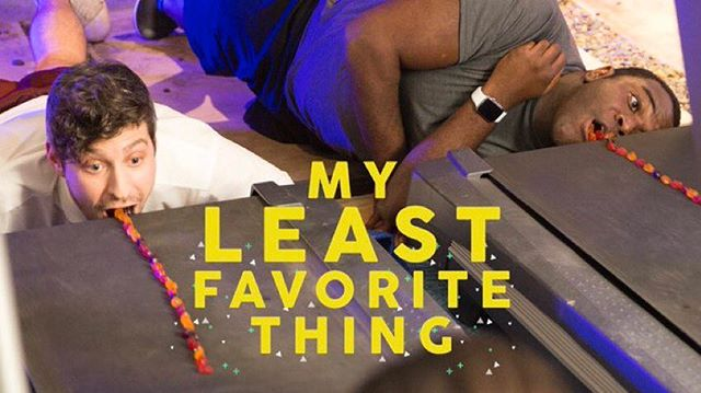 We teamed up with @comedycentral and @zackbornstein to bring you My Least Favorite Thing, because we like to watch people we love do things they hate!  Check out our first episode with @thesamrichardson! Link in our bio.