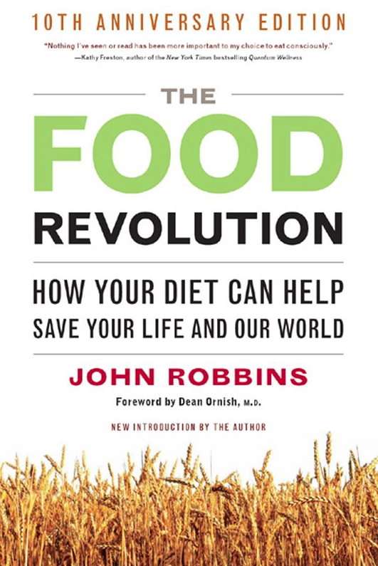 The Food Revolution - by John RobbinsAn amazing read that tells us all about how a vegan diet can change our health, planet and save animals and why we haven't heard any of this before by health professionals or government. Amazing read!