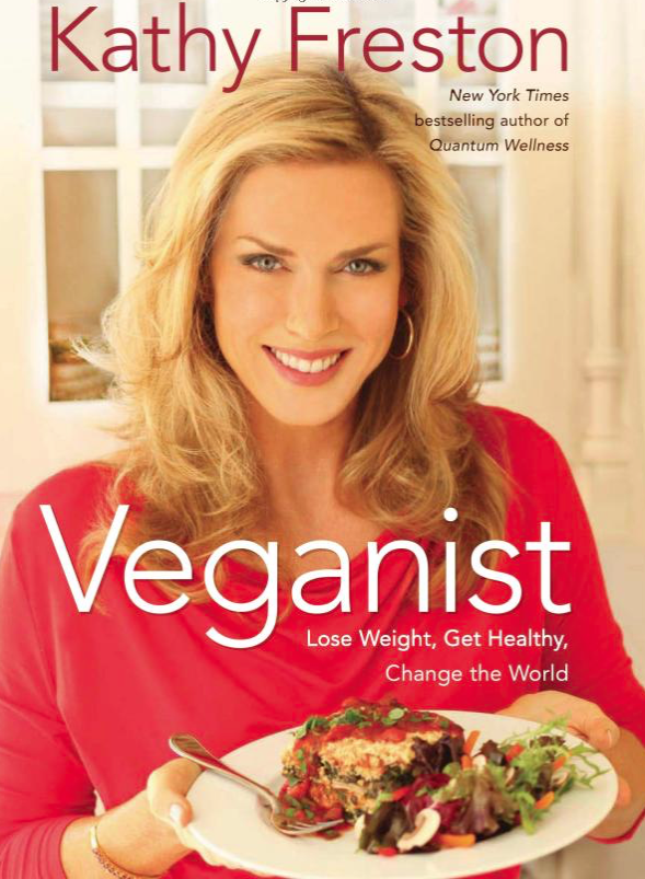 Veganist - by Kathy FrestonA great book to read when you're starting on your vegan path. Written by one of my favorite vegans and a New York Times Bestselling author.