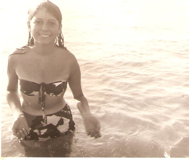 My beautiful mama in her youth.
