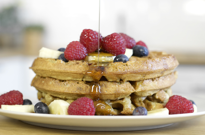 The perfect vegan waffle recipe!
