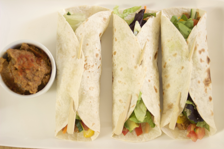 Quick and Easy Vegan Lunch Ideas: Crunchy Lentil Dip Wraps | Brownble