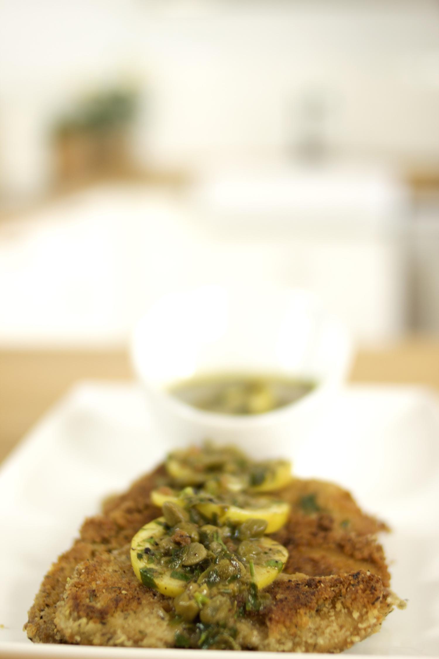 Super crispy vegan scaloppini | Vegan main dishes: Seitan scaloppini piccata | Brownble