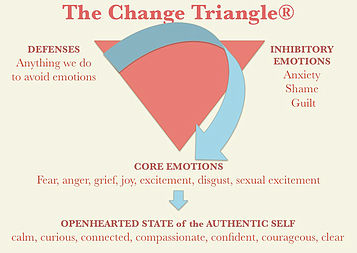Relationship with Food Series Part 5: Emotional Eating, Self Soothing and Meeting the Change Triangle