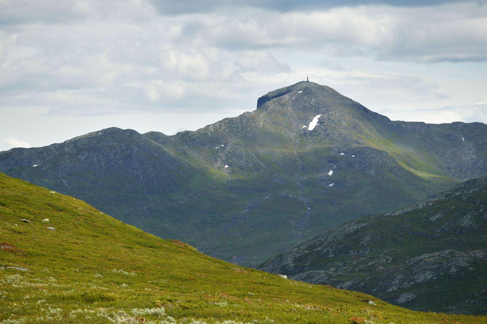 Picture of Bitihorn. Photo: Julia Helgesen