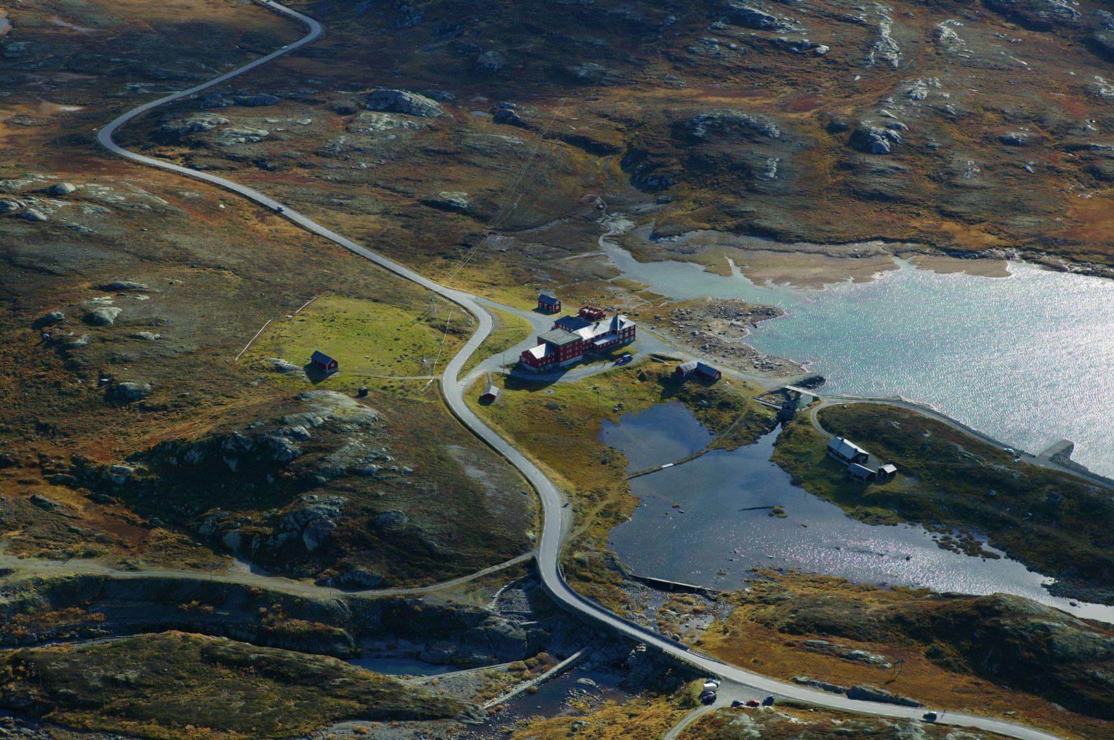 views from top. Photo Morten Helgesen