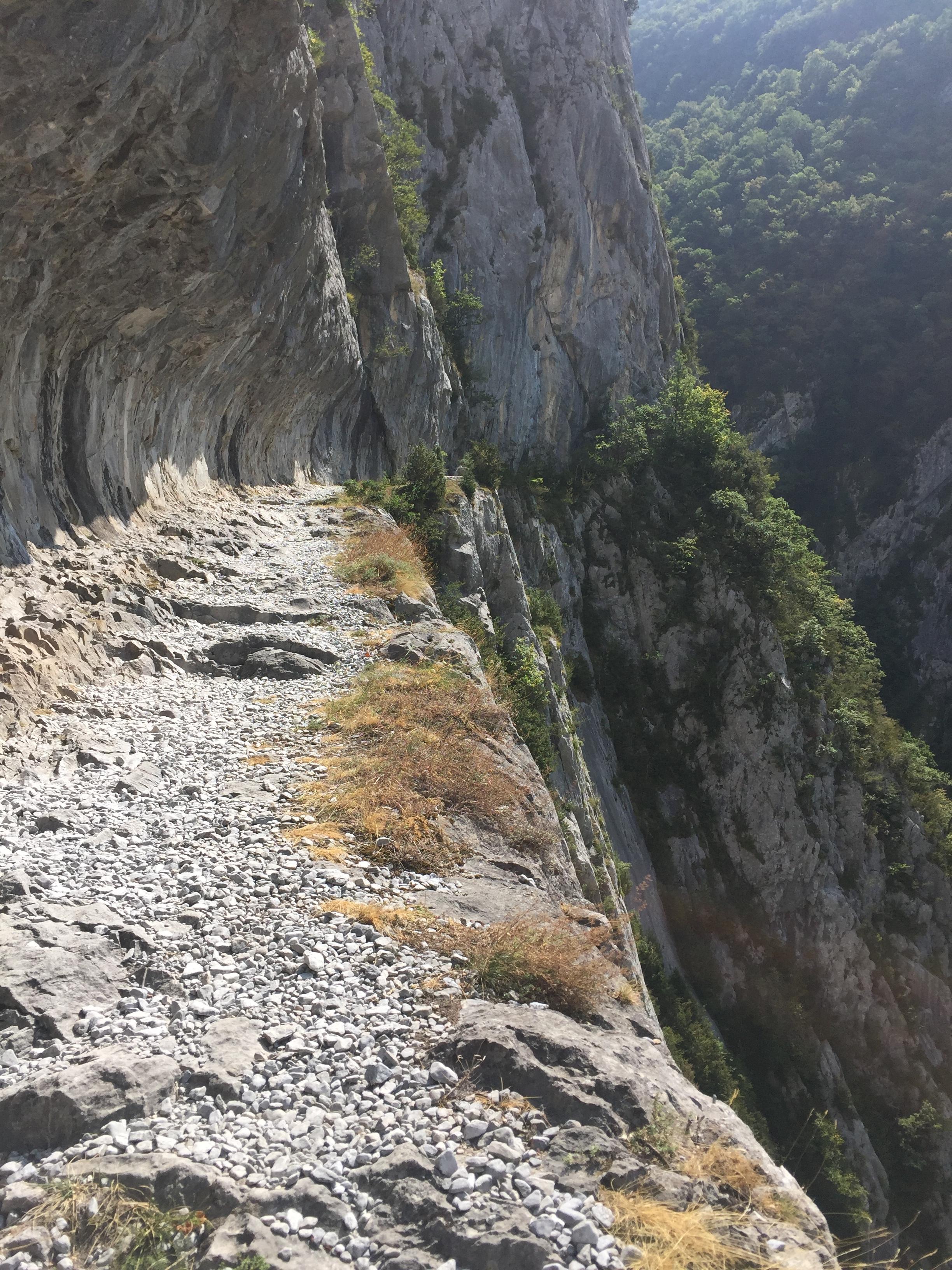 Le chemin de la mature àEtsaut