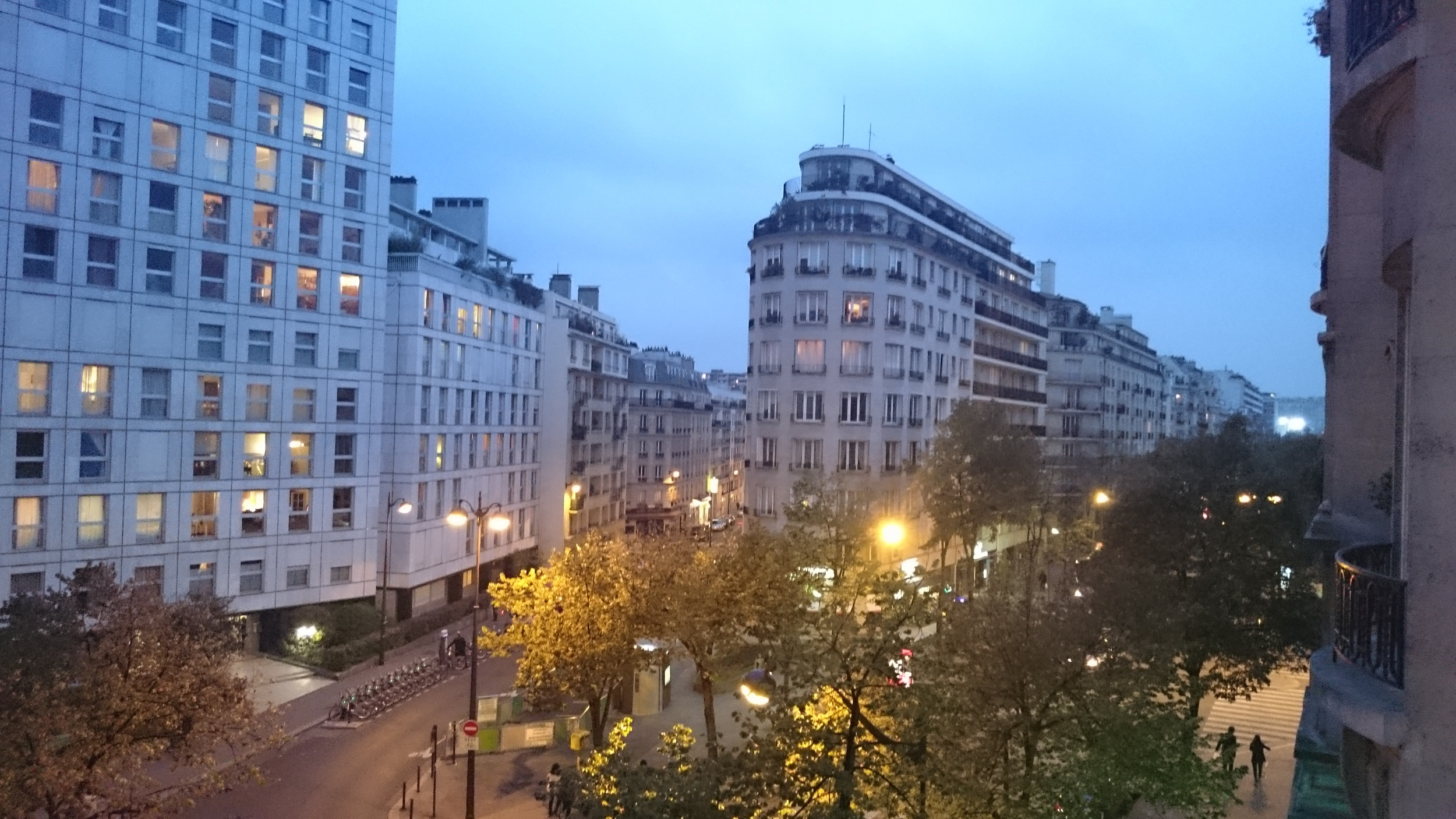Paris! Our view from our AirBnB