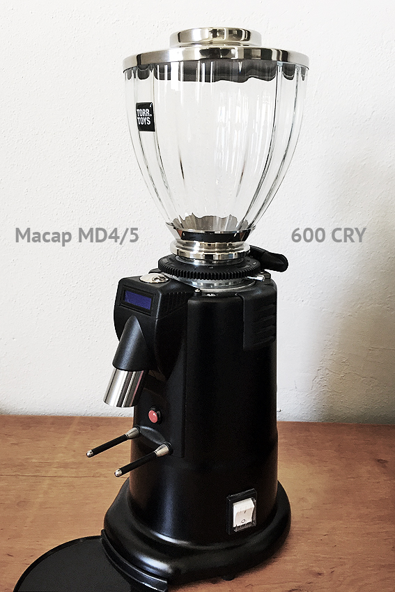 Mazzer S1 at Macap MD4
