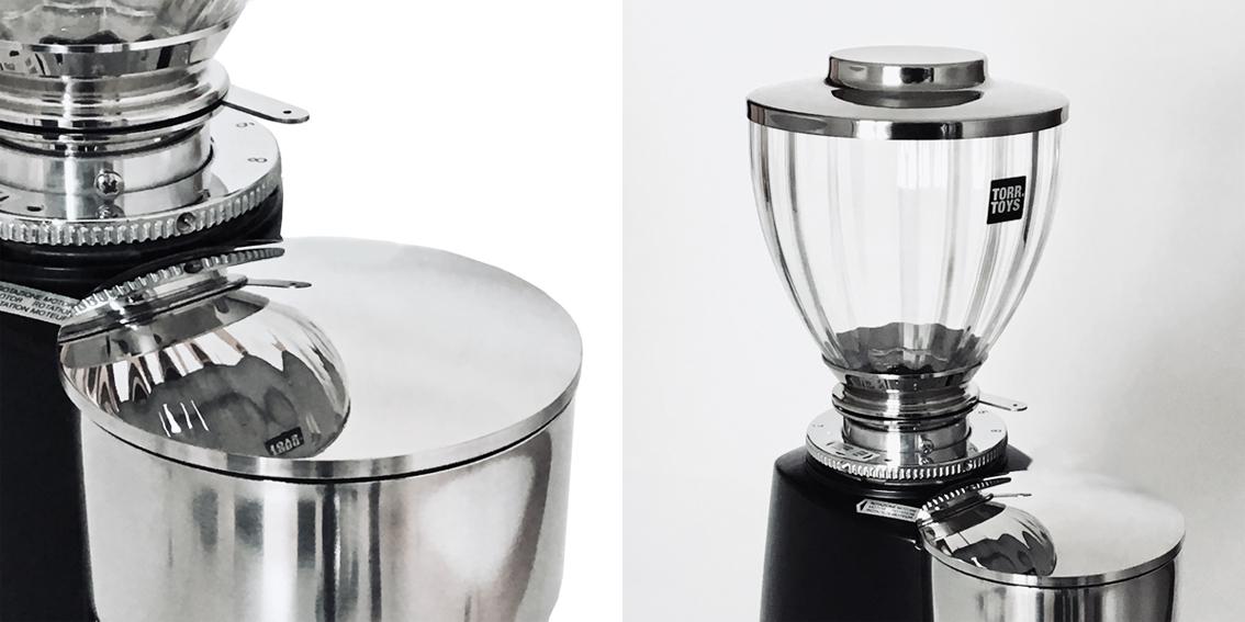 TORR TOYS  Glass Hopper 300g PUR for COMPAK E glossy