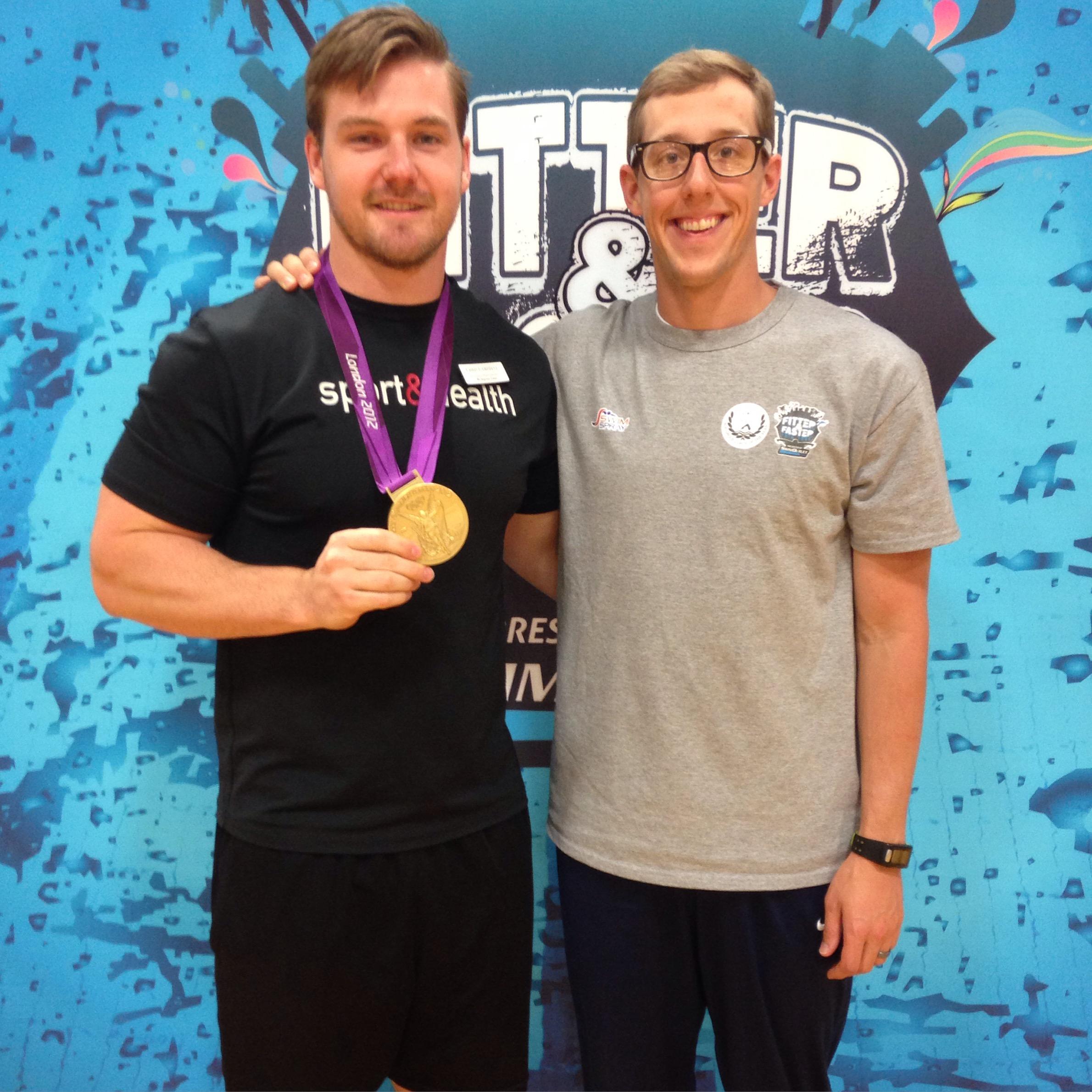 Tyler McGill - Gold Medalist (2012 Olympics)