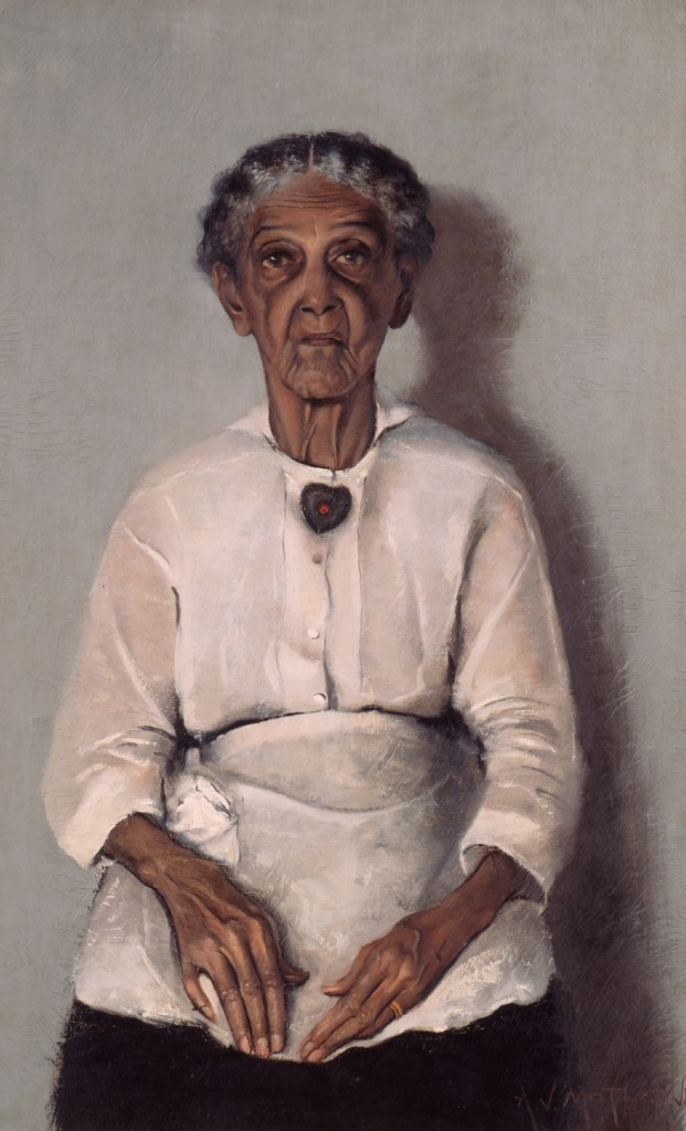Portrait of My Grandmother by Archibald J. Motley Jr. (image via Nasher Museum of Art at Duke University)