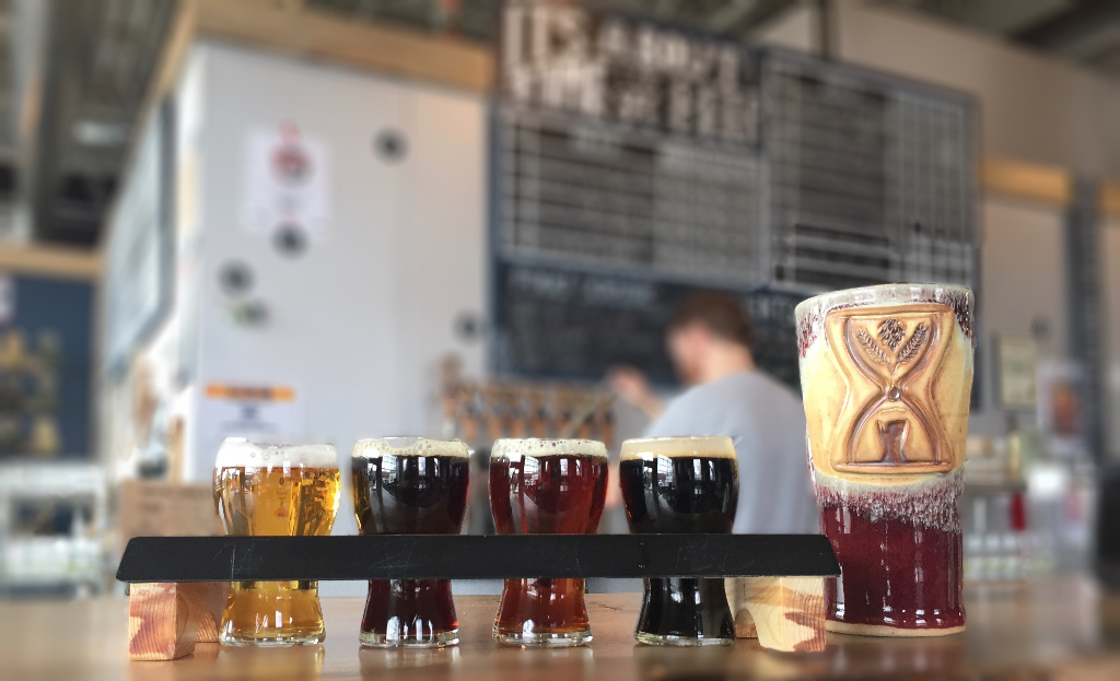beers on tap -