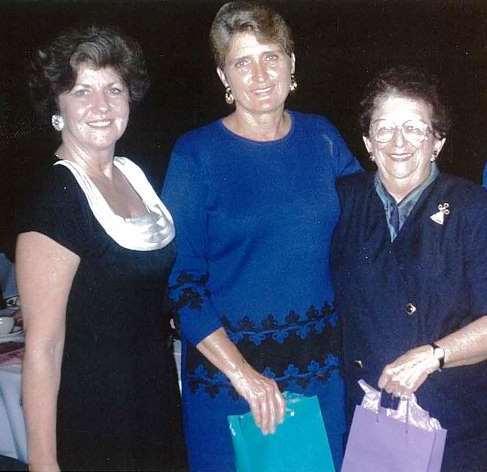 (L to R): Dorothy Gibbons, Dr. Dixie Melillo and Rosalie Kuntz