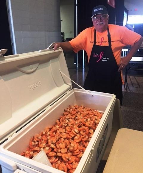 Shrimp Boil Head Cook, Mark