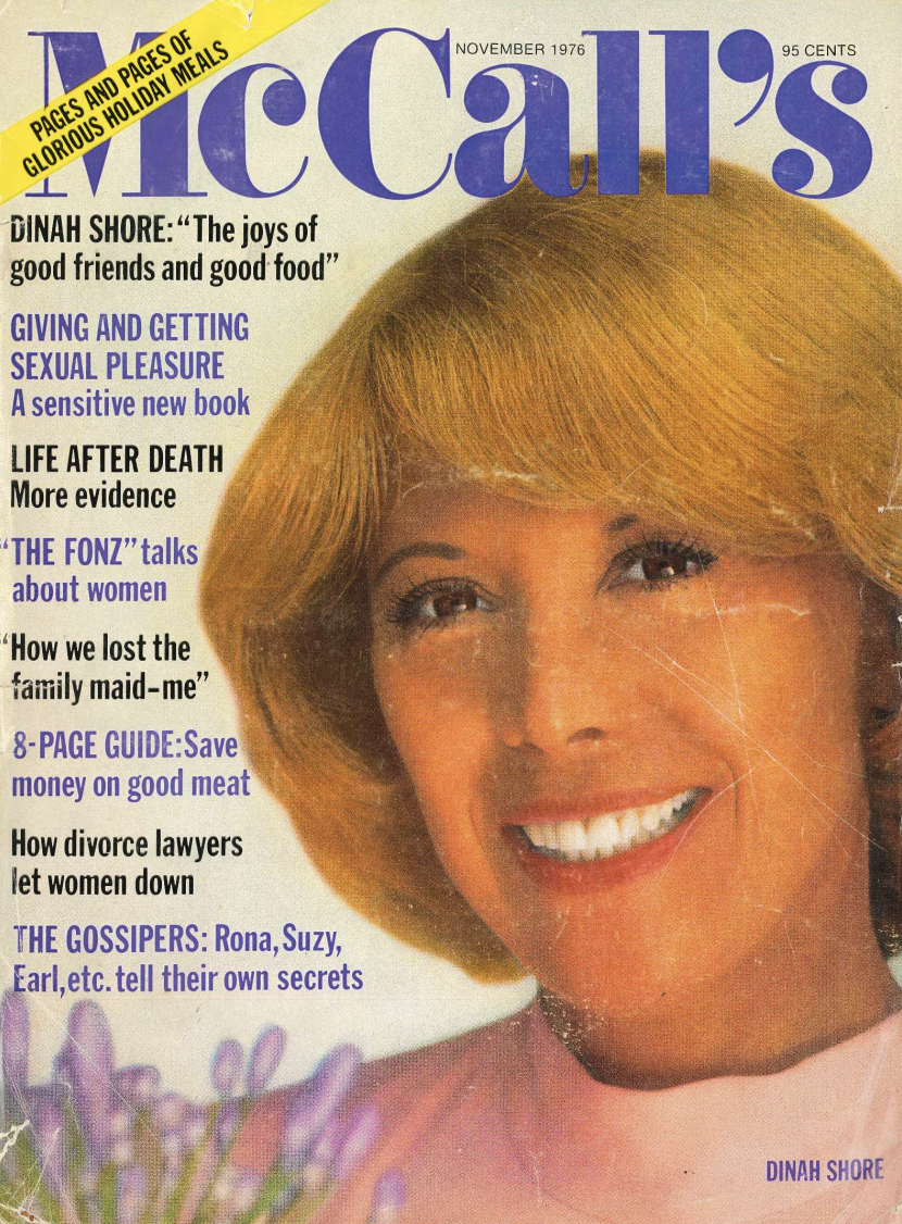 McCall's Magazine, Nov. '76: How We Lost The Family Maid—Me!