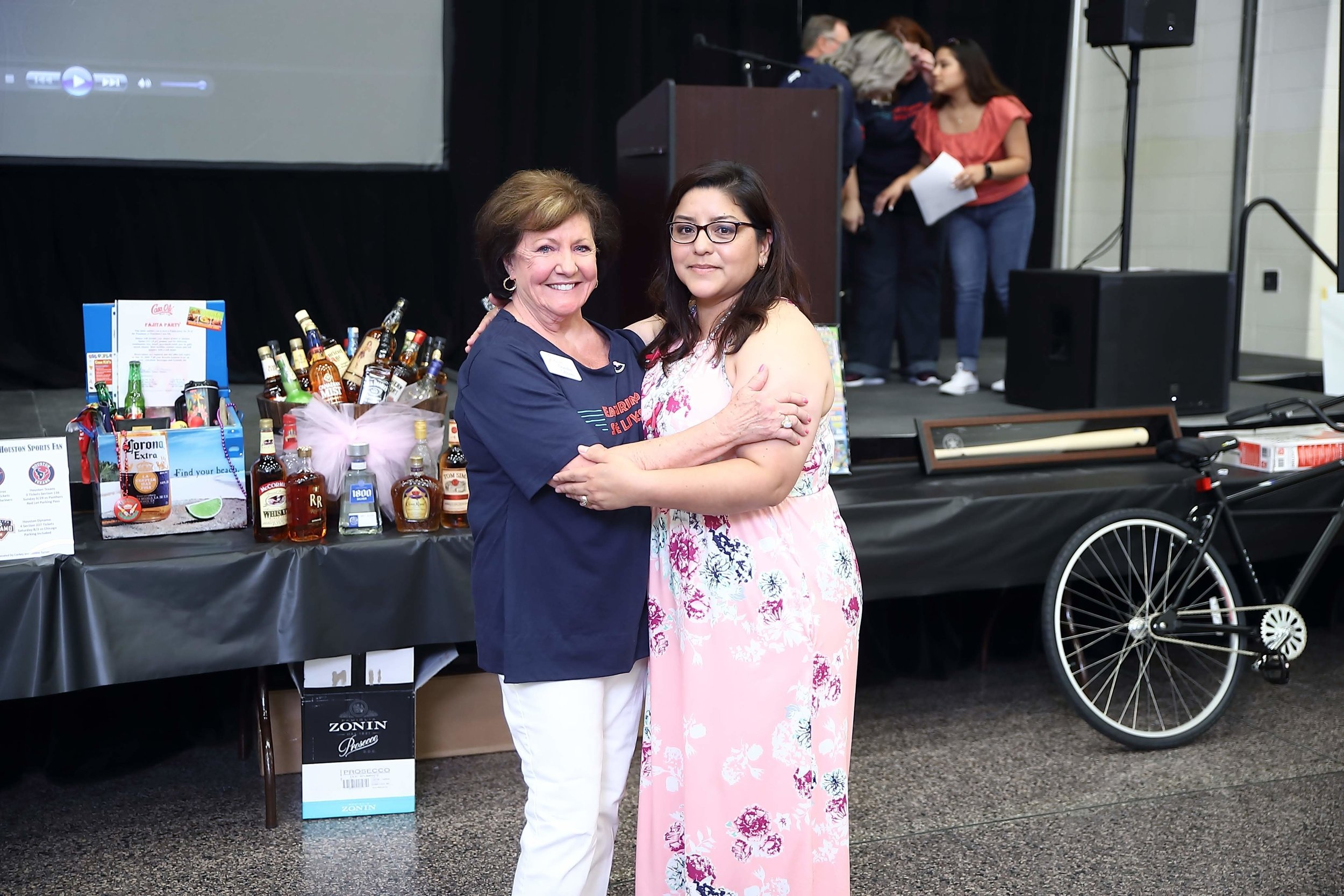 Dorothy Gibbons with Breast Cancer Survivor Marisol