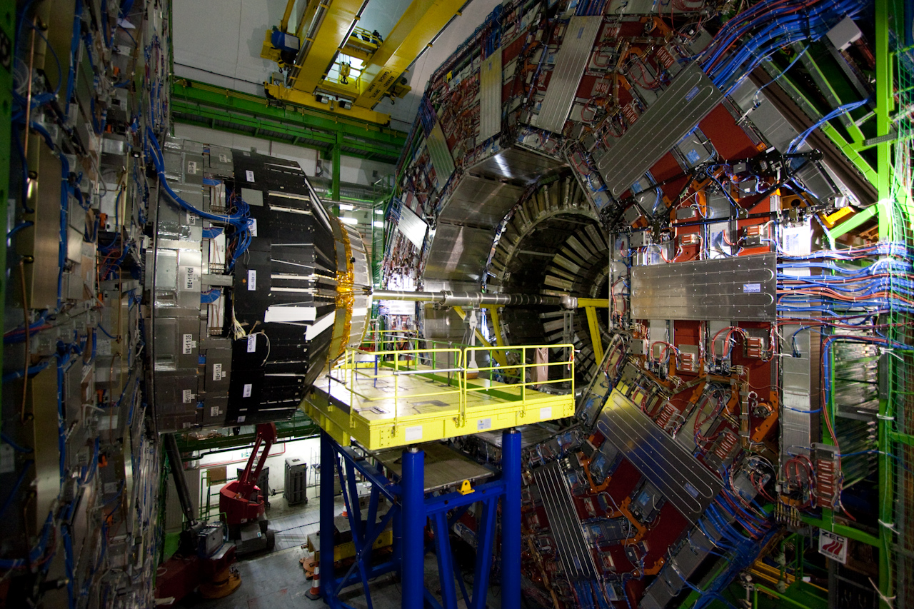 Image credit: Domenico Salvagnin from Legnaro, Italy (CMS@CERN) [ CC BY 2.0 ], via Wikimedia Commons