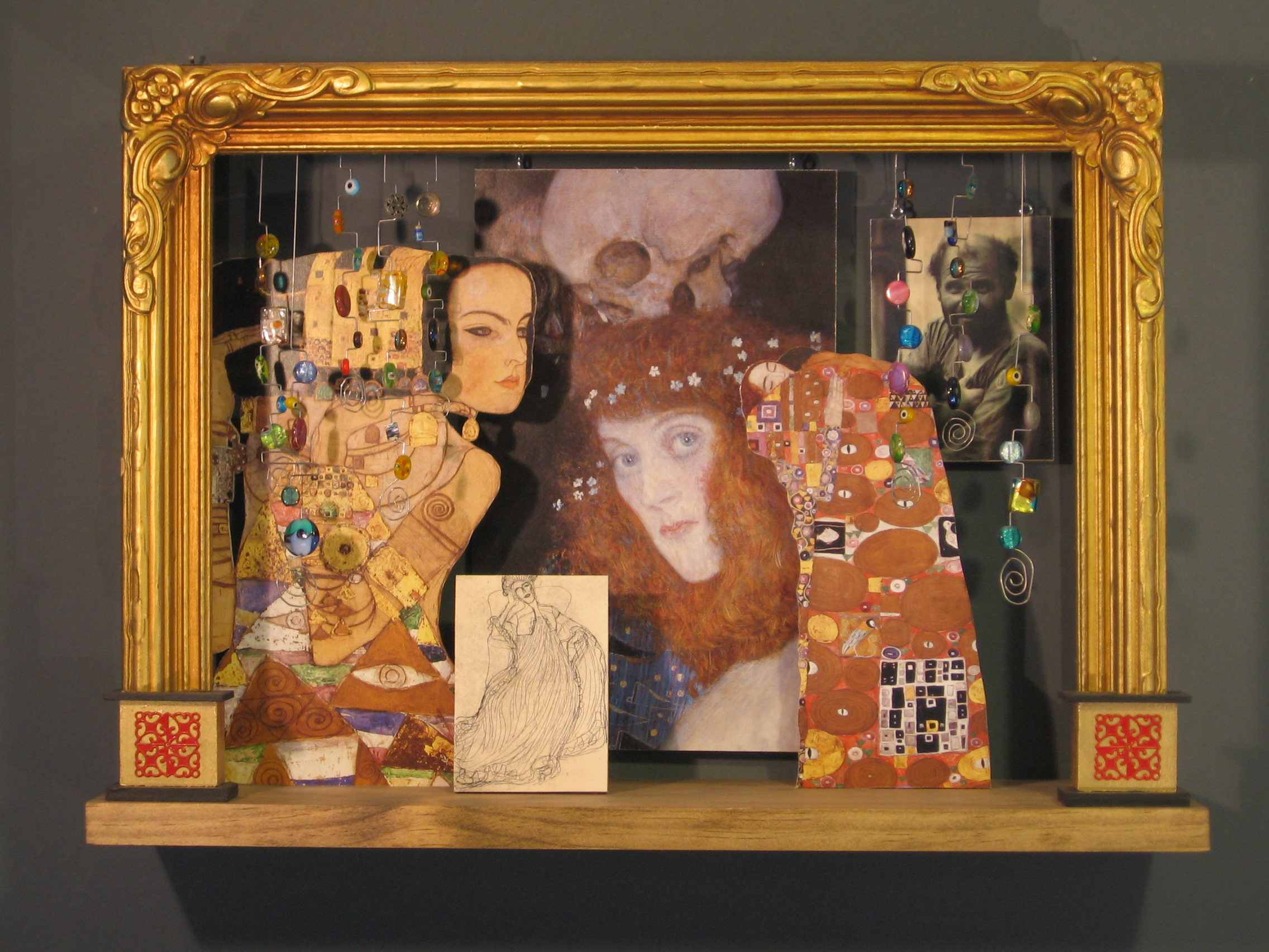 A Tribute to Gustav Klimt SOLD