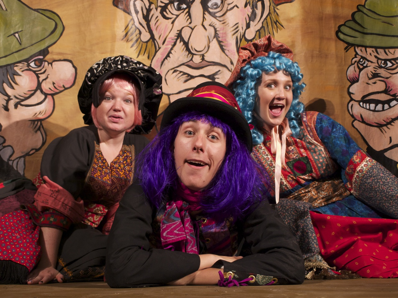 THE MERRYWINKLE INTERNATIONAL TROUPE OF VAGABONDS PERFORMS A DELICIOUS POTPOURRI OF FANTASTICAL FAIRY TALES AND ASTONISHING FOLK LEGENDS