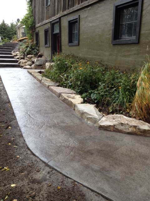 Stairs and pathways with limestone garden edging.jpg