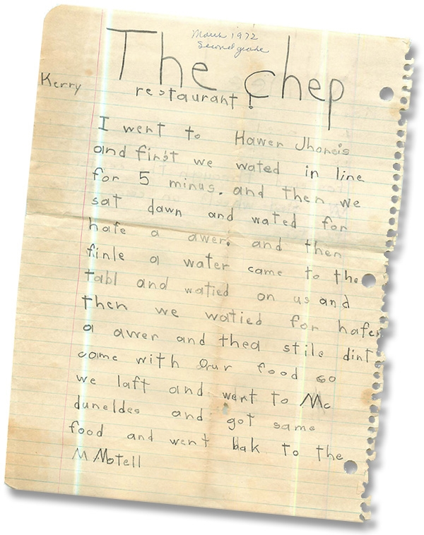 A-childs-writing-600pxl-©KerryFores.jpg