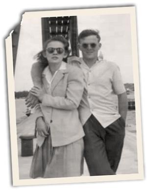 Harvey and Lorna Reeds. Photo courtesy the Reeds family.