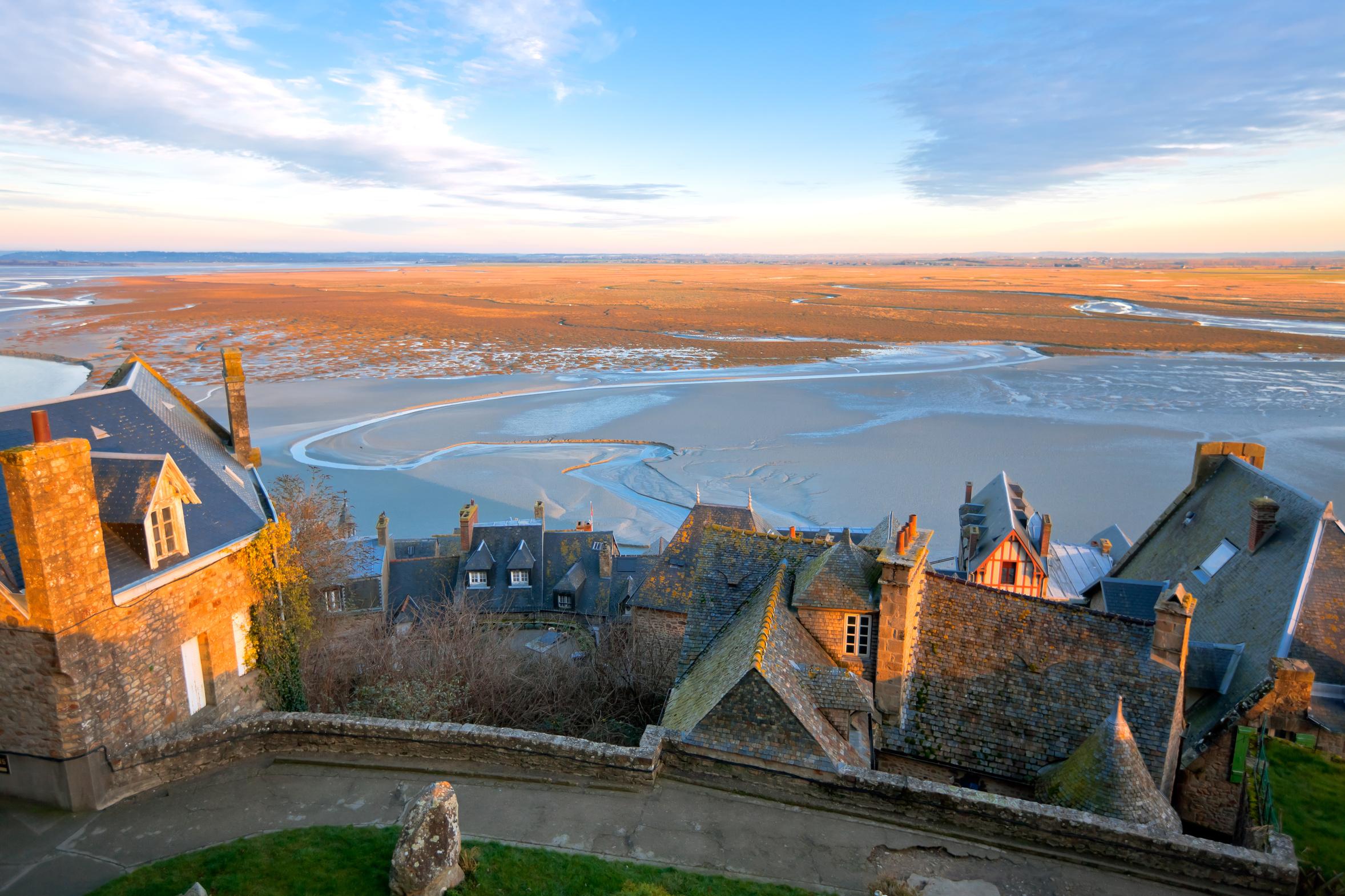 Le mont-Saint-michel et sa baie Normandie