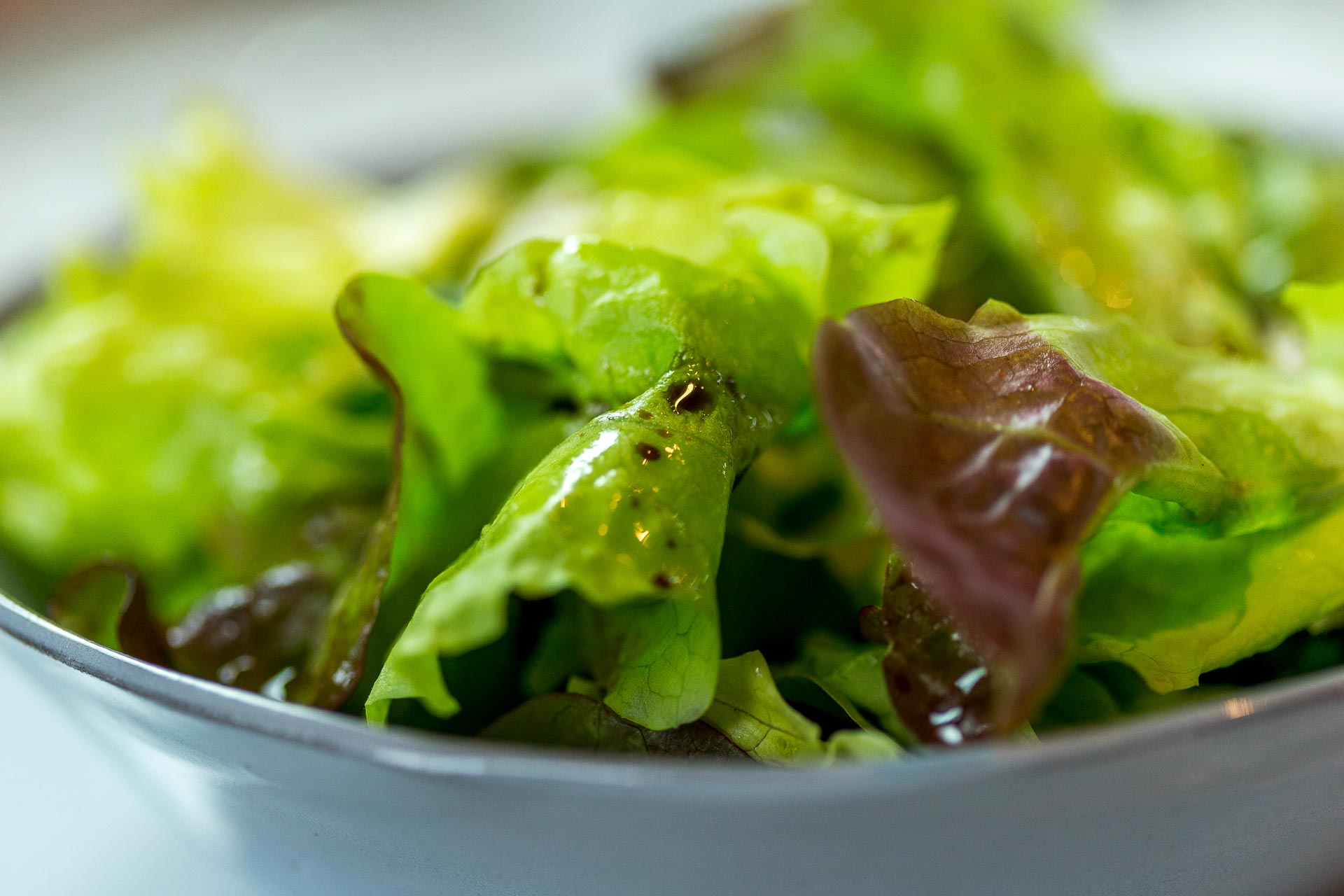 Salade verte croquante