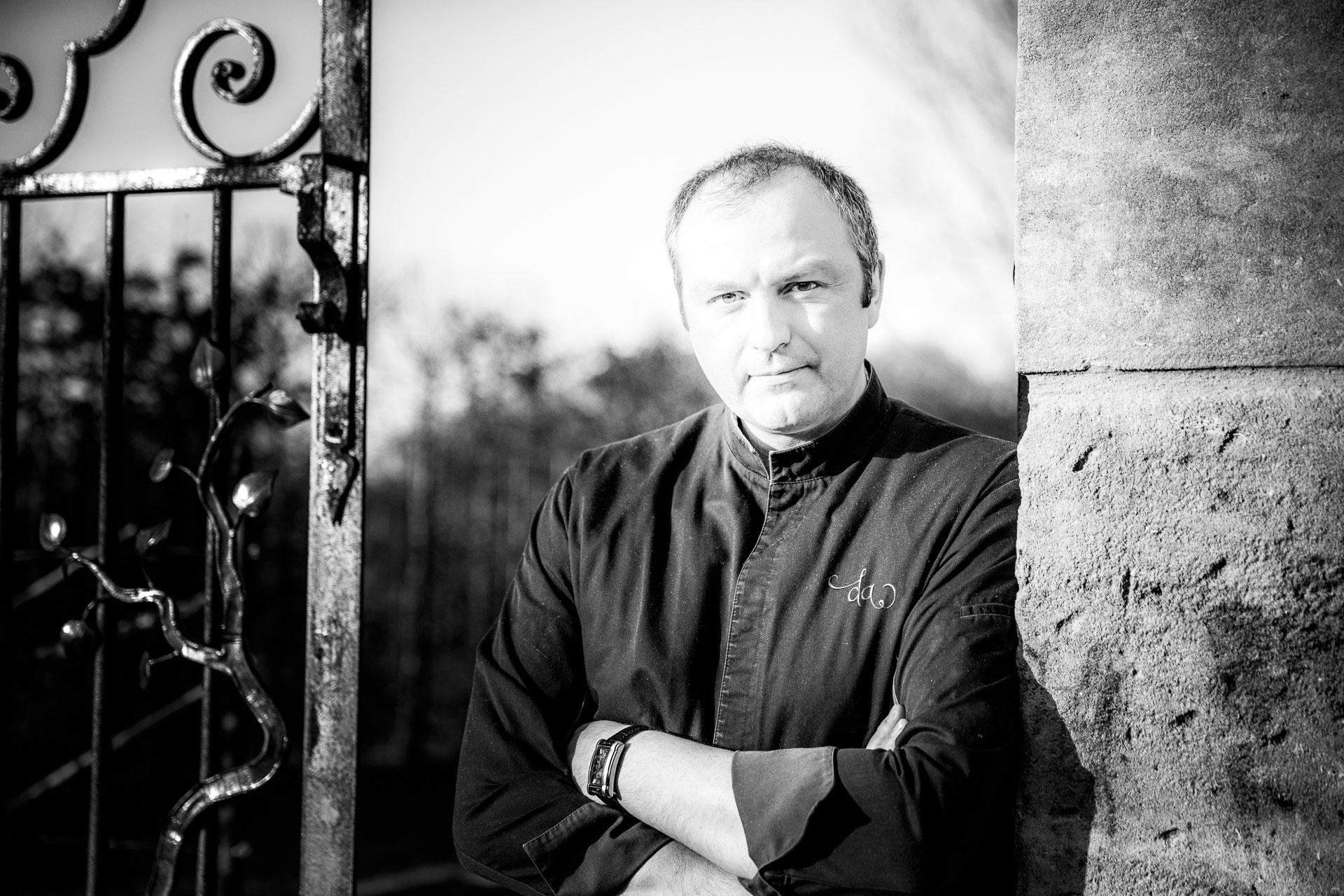 Jérôme Billochon chef au Domaine d'Ablon Normandie