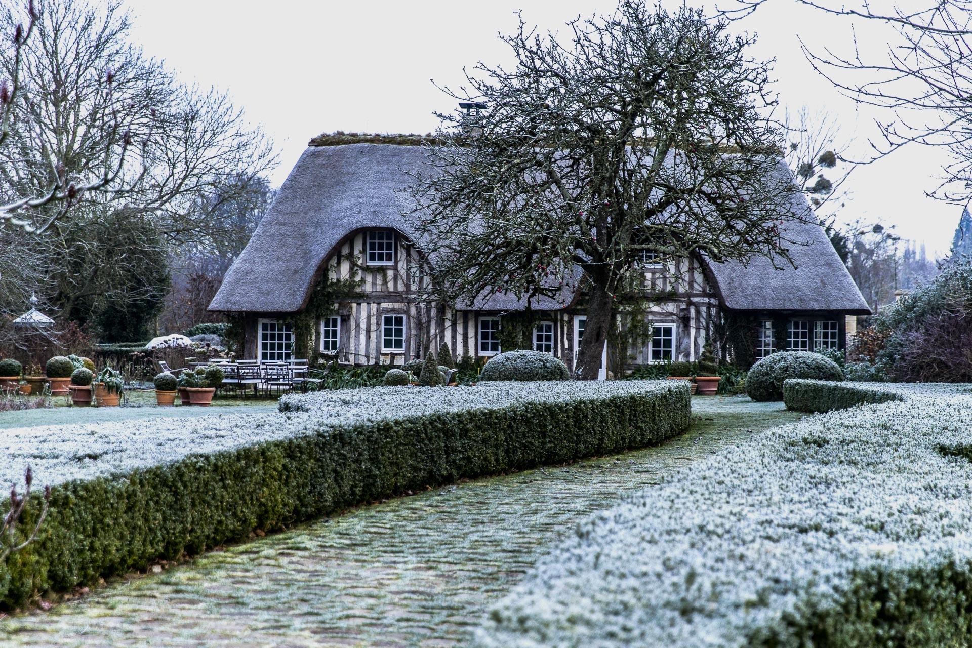 le domaine d'ablon en hiver