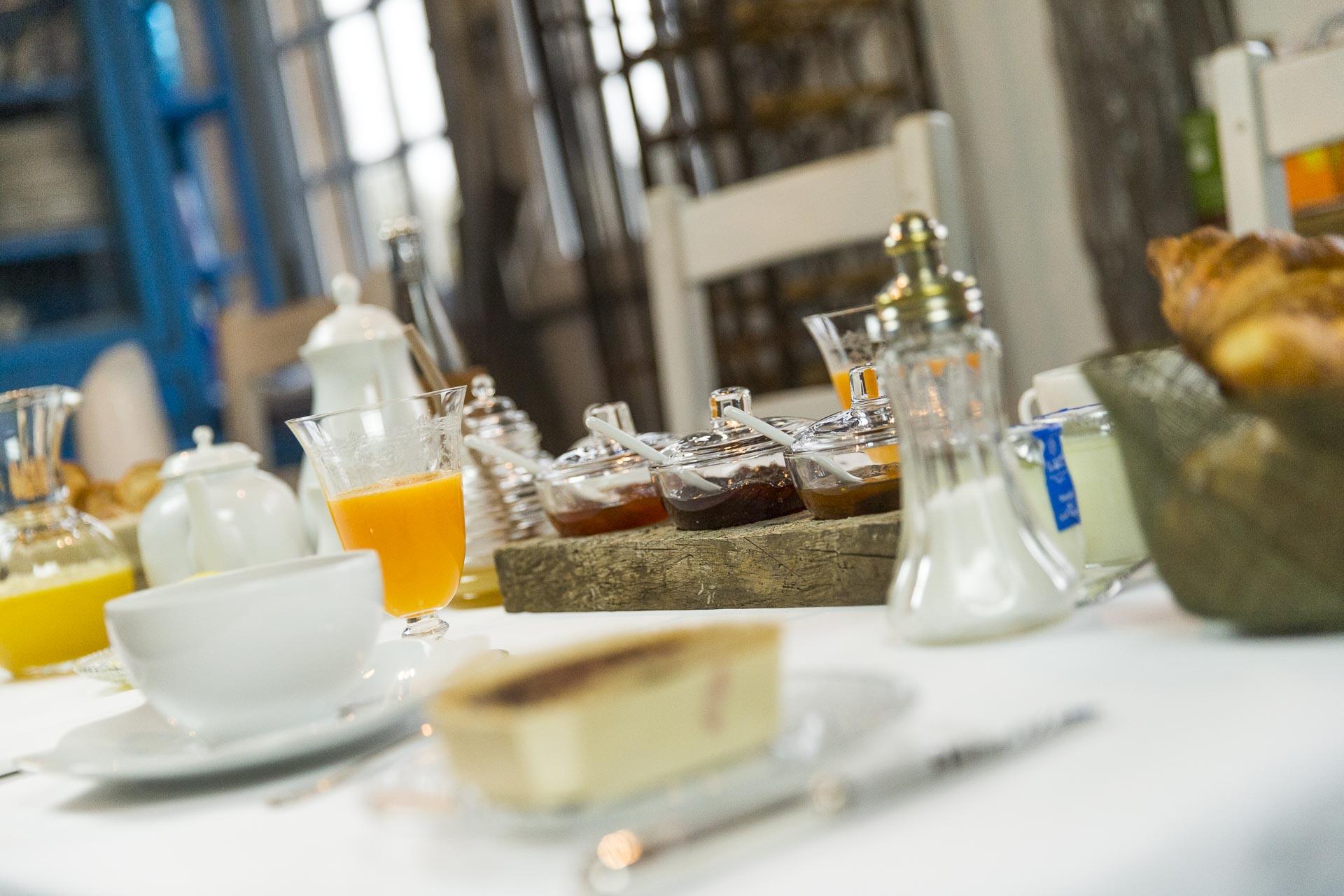 Les petits déjeuners du Domaine d'Ablon