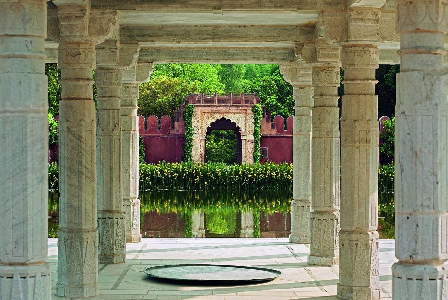 pavillon indien chateau champ de bataille