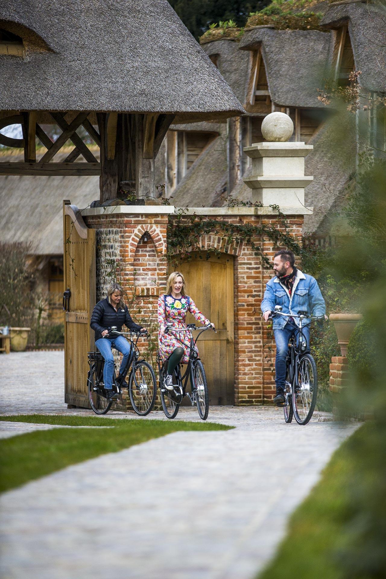 balade à vélo normandie