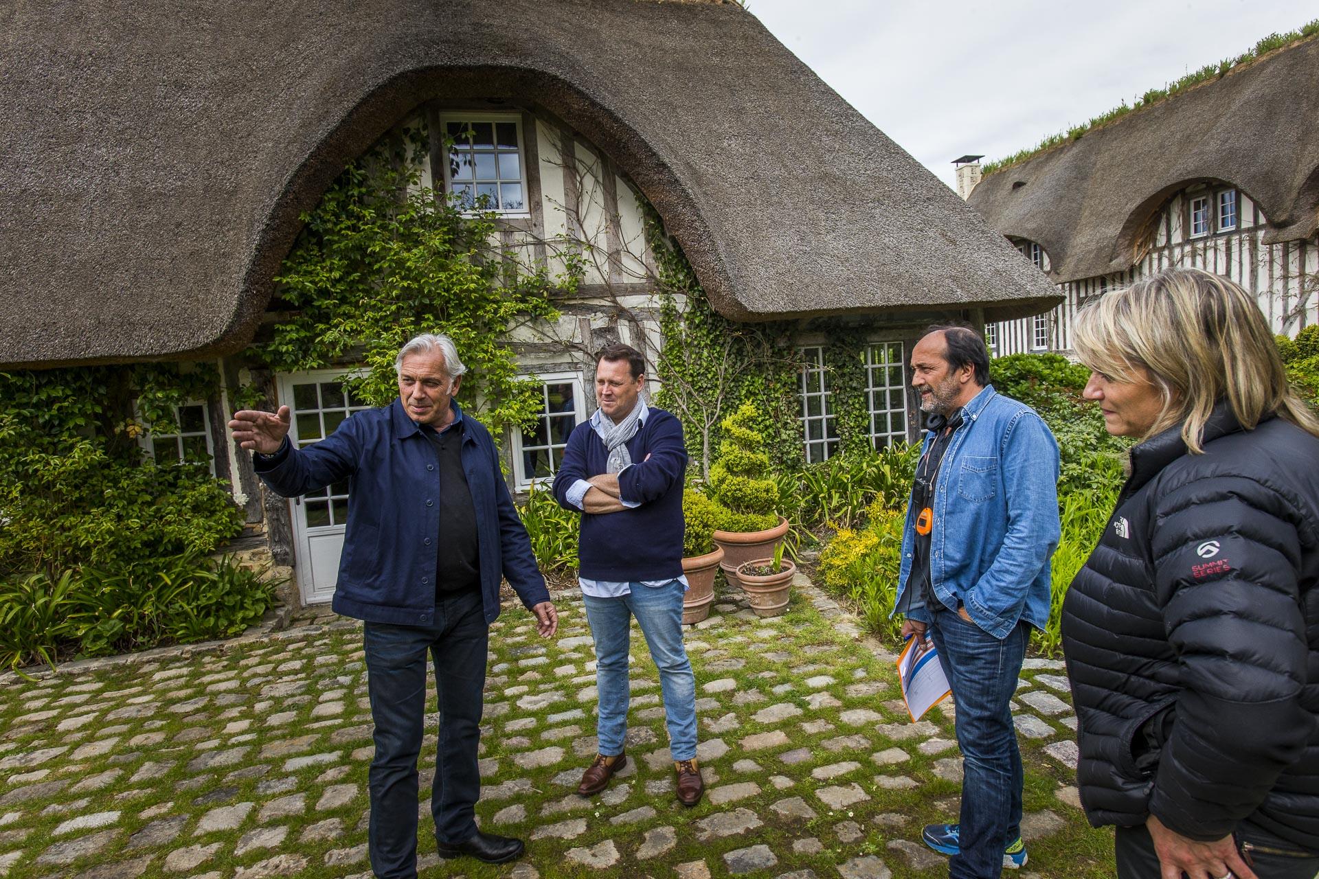 Tournage la maison France 5 - Domaine d'Ablon