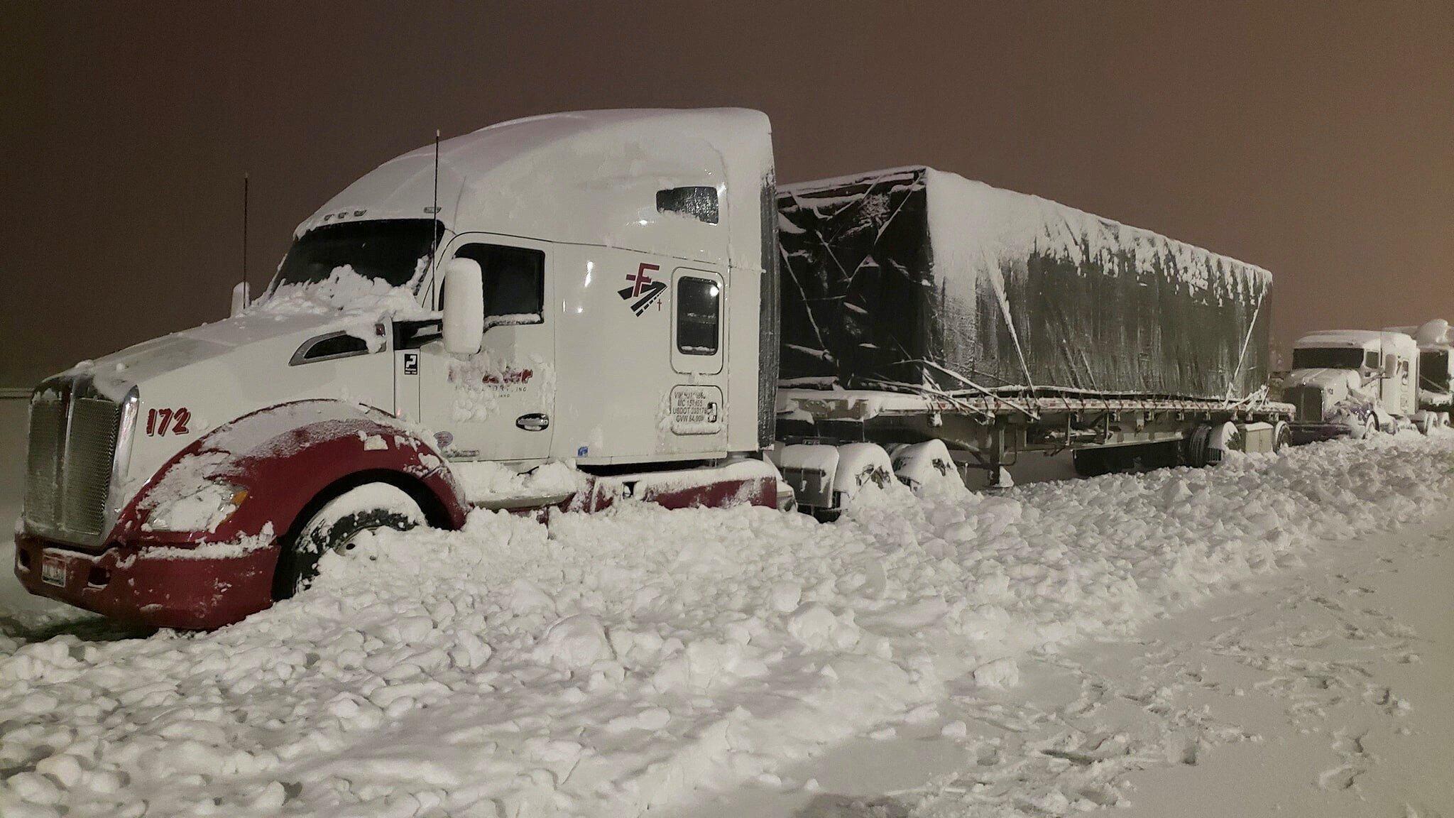 Images shot by Frasier Transport drivers.