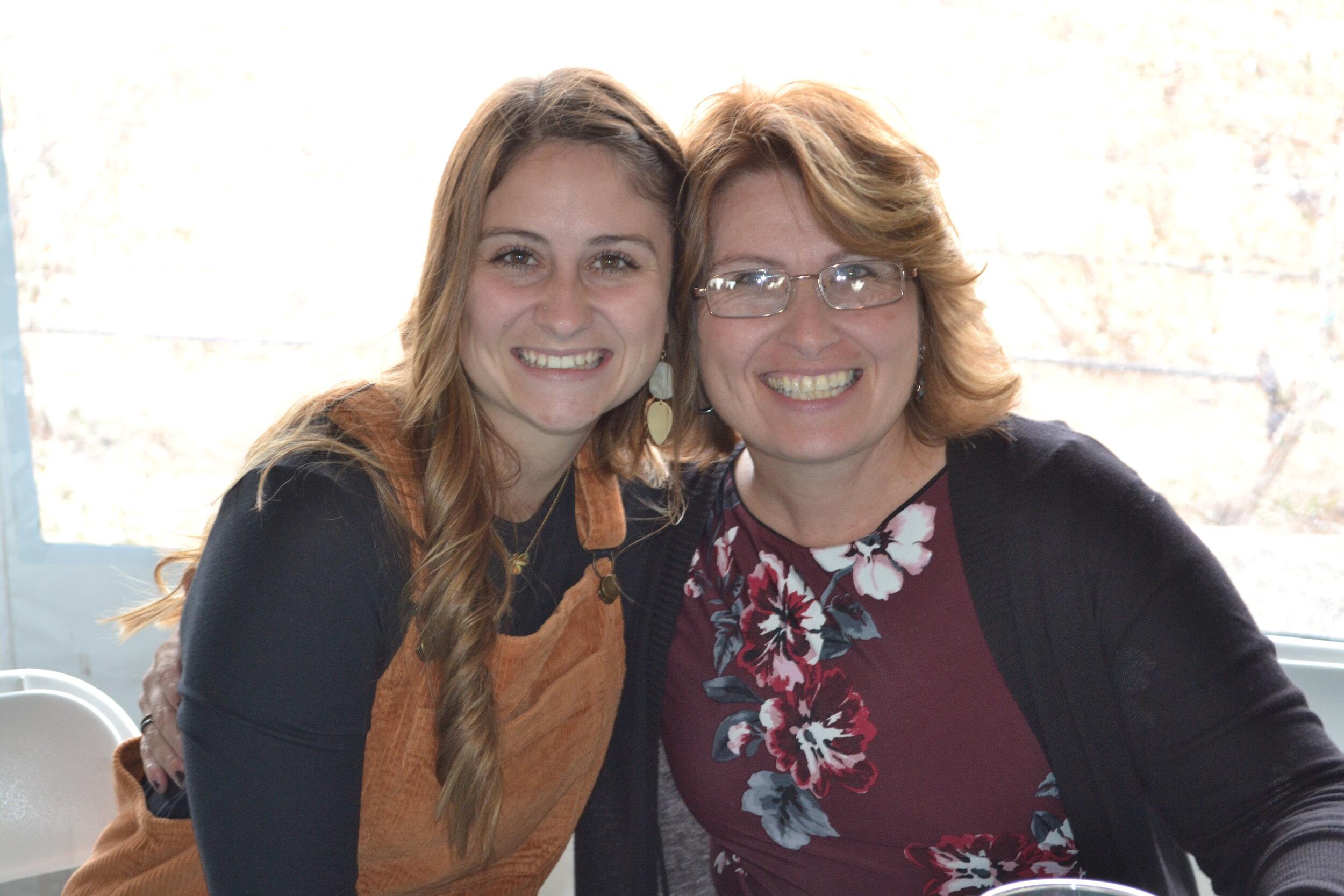 Holly & Casey, October 2019